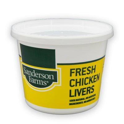 Sanderson Farms Fresh Chicken Livers