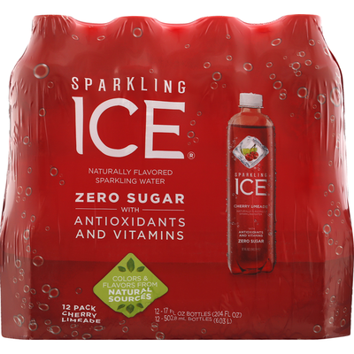 Sparkling Ice Cherry Limeade Sparkling Water