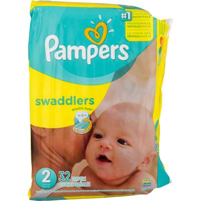 Pampers Sesame Street Beginnings Swaddlers Size 2 Diapers