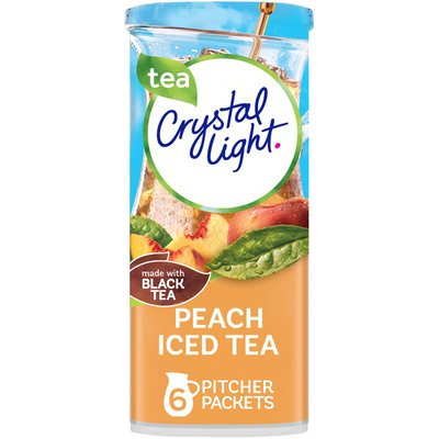 Crystal Light Peach Iced Tea Artificially Flavored Powdered Drink Mix