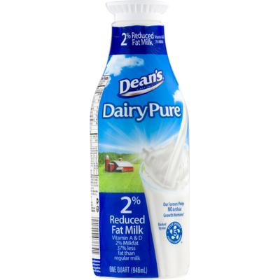 Dean's Dairy Milk, Reduced Fat, 2% Milkfat