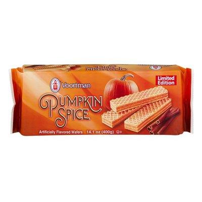 Voortman Wafers Pumpkin Spice