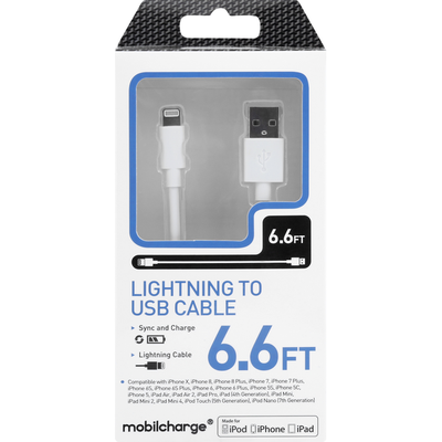 MobilEssentials Lightning to USB Cable