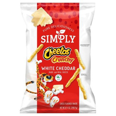 Cheetos Crunchy White Cheddar Cheese Flavored Snacks