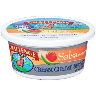 Challenge Salsa Flavored Cream Cheese Spread