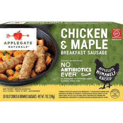 Applegate Chicken & Maple Breakfast Sausage Links 7oz