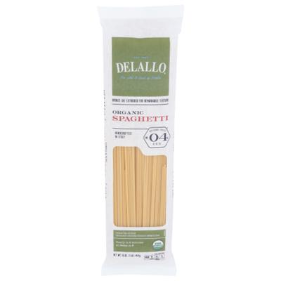 DeLallo Organic Spaghetti #4