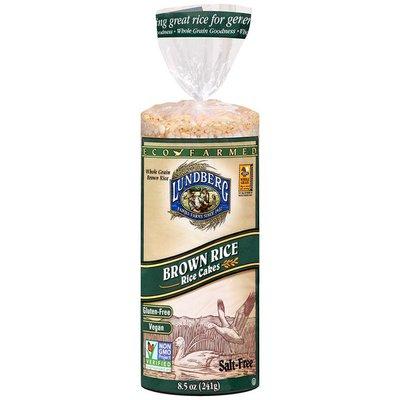 Lundberg Family Farms EF Brn Rice Rice Cake Salt Free Eco-Farmed Rice Cakes