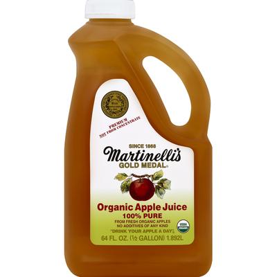 Martinelli's 100% Juice, Organic, Pure Apple