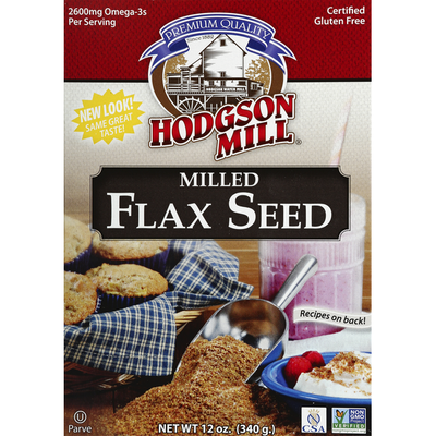 Hodgson Mill Flax Seed, Milled