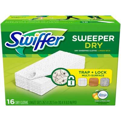 Swiffer Sweeper Dry Sweeping Pad Multi Surface Refills for Dusters Floor Mop
