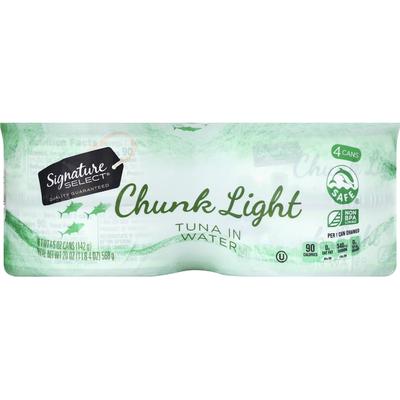 Signature Select Tuna in Water, Chunk Light