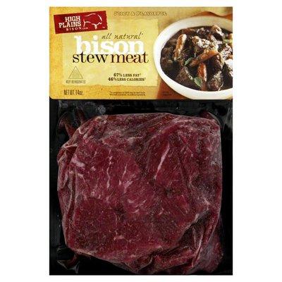 High Plains Stew Meat, Bison
