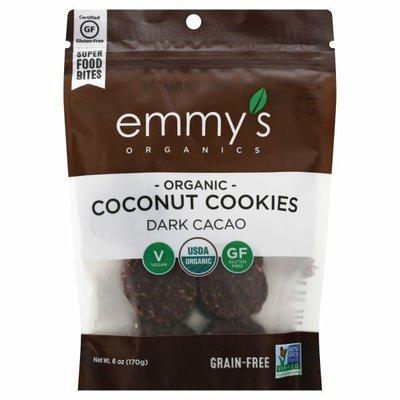Emmy's Organics Coconut Cookies, Dark Cacao