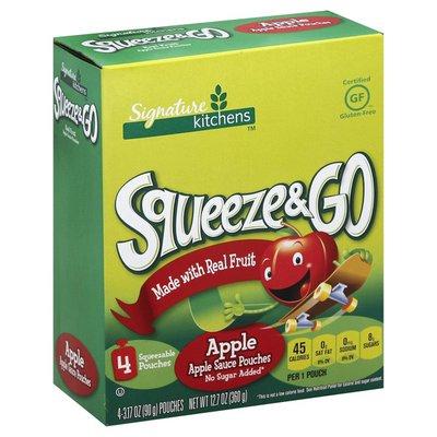 Signature Kitchens Apple Sauce, Squeeze & Go!
