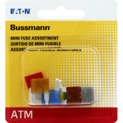 Bussmann Fuse, ATM, Assortment, Mini