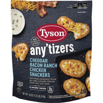 Tyson Snackers, Chicken, Cheddar Bacon Ranch