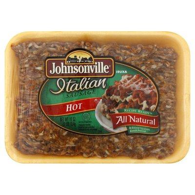 Johnsonville Sausage All Natural Hot Italian Sausage