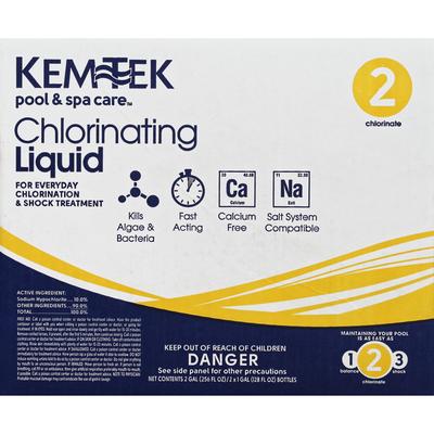 Kemtek Chlorinating Liquid, 2 Chlorinate
