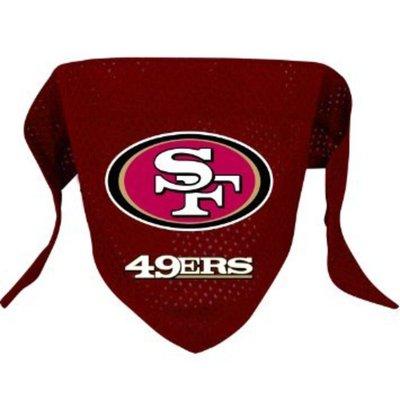 Hunter San Francisco 49ers NFL Dog Bandana