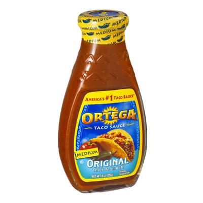 Ortega Taco Sauce, Original, Medium