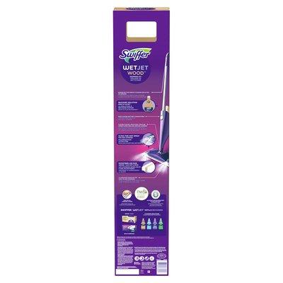 Swiffer Wetjet Wood Floor Spray Mop Starter Kit