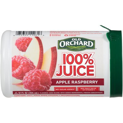 Old Orchard Apple Raspberry 100% Juice Frozen Concentrate
