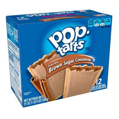 Kellogg's Pop-Tarts Breakfast Toaster Pastries Frosted Brown Sugar Cinnamon