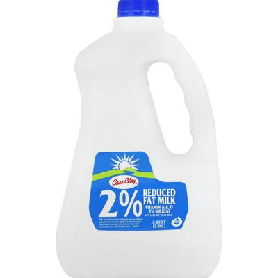 Cass-Clay Milk, Reduced Fat, 2% Milkfat