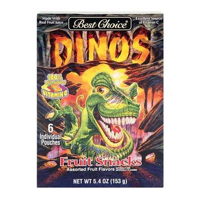 Best Choice Dinosaur Fruit Snacks