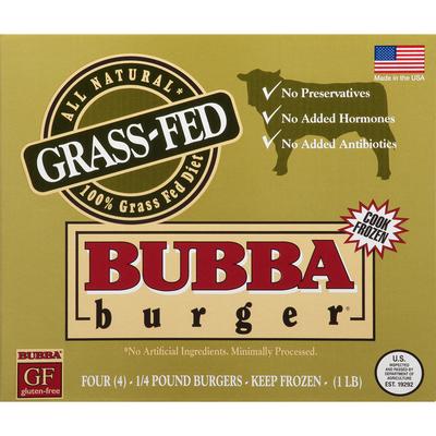 Bubba Burger All Natural Grass-Fed Pound Burgers