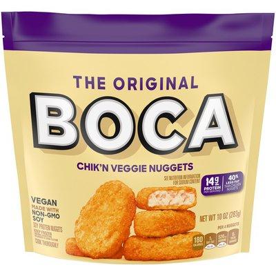 Boca Original Vegan Chik'n Veggie Nuggets with Non-GMO Soy