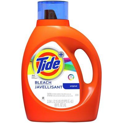 Tide Plus Bleach Alternative Original Scent Liquid Laundry Detergent