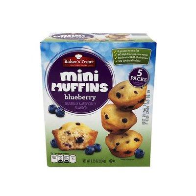 Baker's Treat Blueberry Mini Muffins