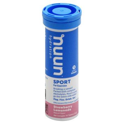 Nuun Sport, Tablets, Strawberry Lemonade