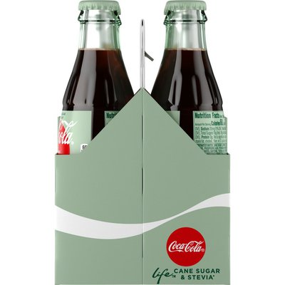 Coca-Cola Life Soda Soft Drink