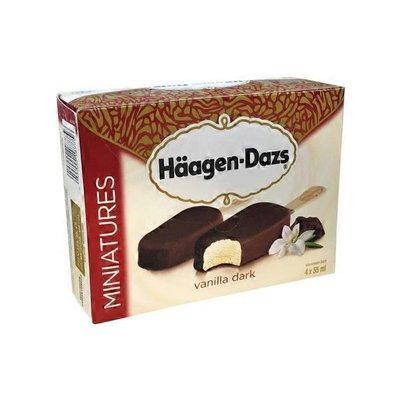 Häagen-Dazs Miniatures Dark Chocolate Vanilla Ice Cream Bars
