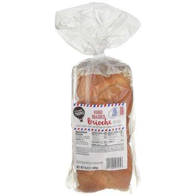 Culinary Tours Brioche Hand Braided Bread