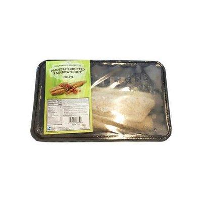 Boneless Parmesan Crusted Rainbow Trout Fillet