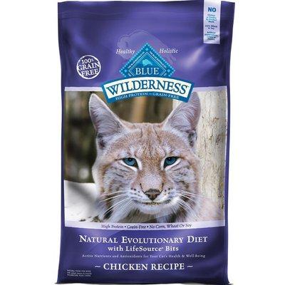 Blue Buffalo Wilderness Chicken Recipe Adult Cat Food