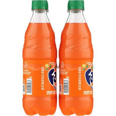 Fanta Orange Soda Fruit Flavored Soft Drink