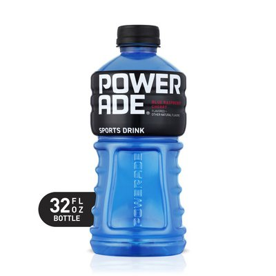 Powerade Blue Raspberry Cherry, Ion4 Electrolyte Enhanced Fruit Flavored Sports Drink W/ Vitamins B3, B6, And B12, Replenish Sodium, Calcium, Potassium, Magnesium