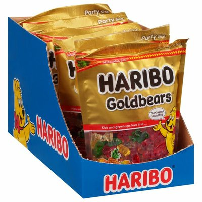 HARIBO Gummi Candy, Party Size