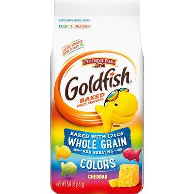 Pepperidge Farm®  Goldfish® Baked with Whole Grain Colors Cheddar Baked with Whole Grain