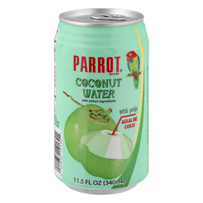 Parrot Water Coconut With Pulp