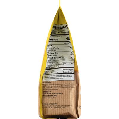 Dr. Schar Entertainment Crackers, Gluten Free