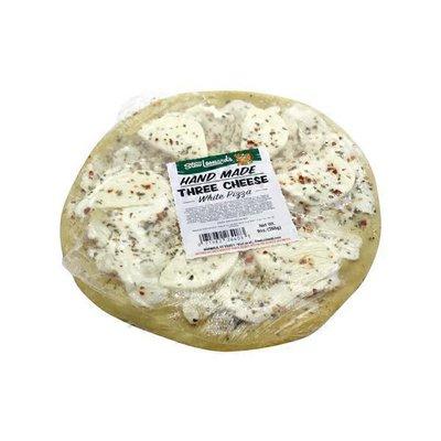 Three Cheese White Pizza