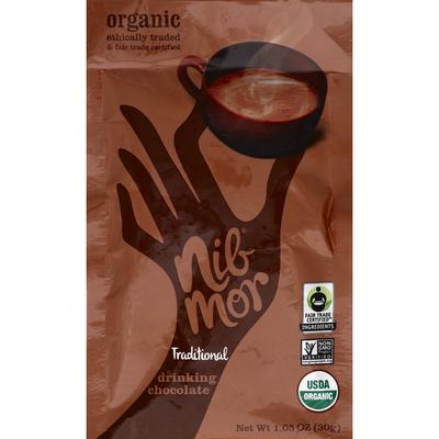 Nib Mor Organic Drinking Chocolate Traditional