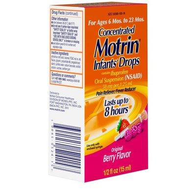 Infant's Motrin Concentrated Drops