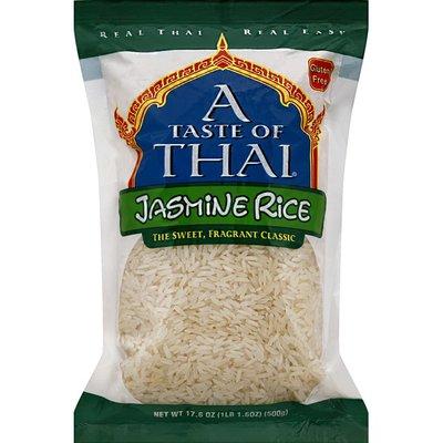 A Taste of Thai Jasmine Rice